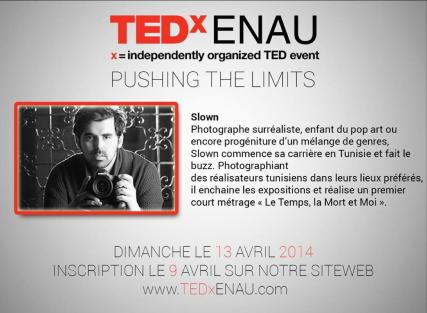 TED'x ENAU (Avril 2014)